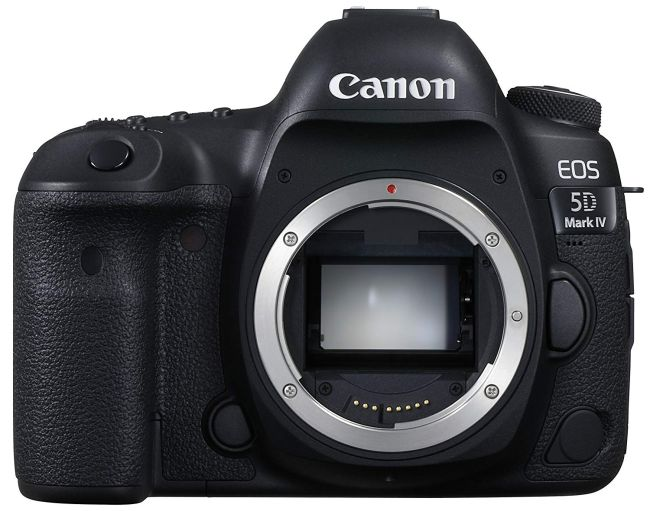 canon 5d mark iv no lens
