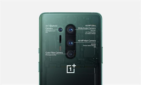 OnePlus is disabling the near-infrared 'Color Filter' camera on its 8Pro smartphone over privacy concerns