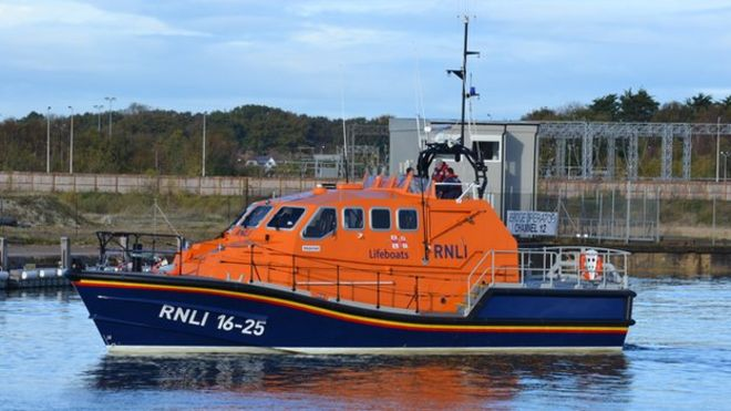 RLNI lifeboat