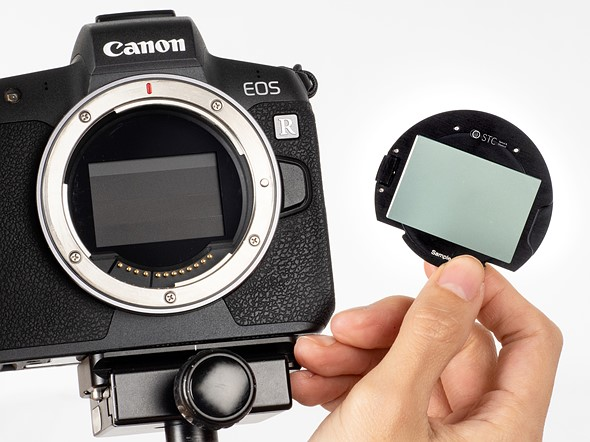 STC launches its over-sensor clip-in filters for Canon EOS R