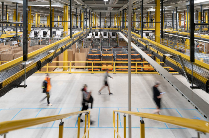 From Photographer to Amazon Worker: Documenting Life in the Warehouse