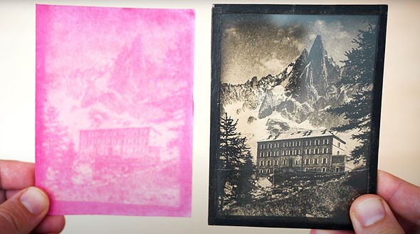 Video: Mathieu Stern uses beet juice to create an 'anthotype' prints