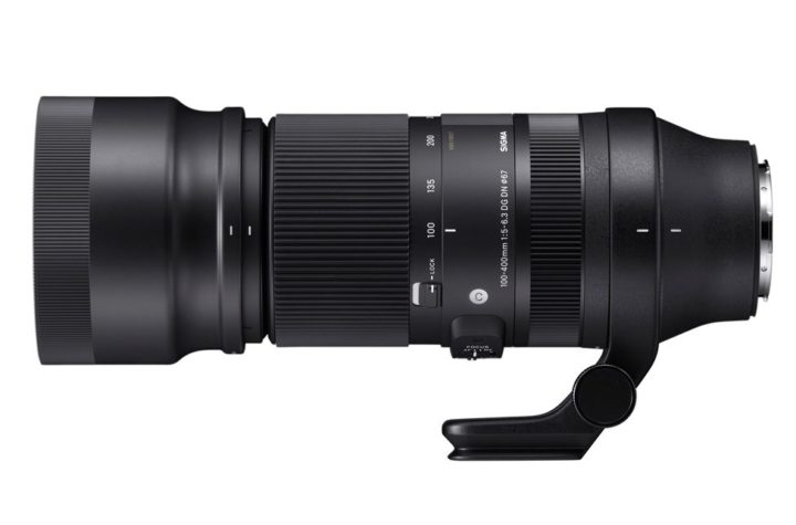 Sigma Introduces 100-400mm And Teleconverters For Full-Frame Mirrorless