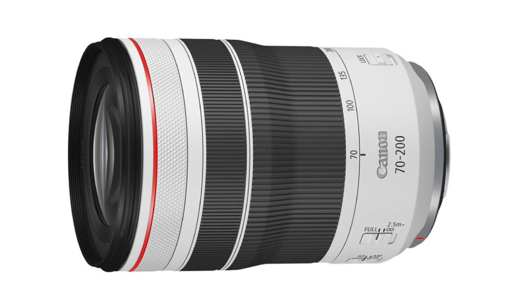 Canon compact rf 70-200mm F4 L IS USM lens