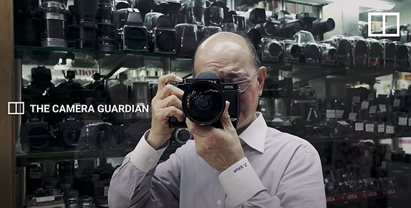 Video: David Chan is the 'Camera Guardian' in Hong Kong