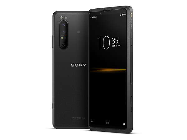 Sony's $2500 Xperia Pro is half 5G phone, half 4K HDR monitor/live-streaming device
