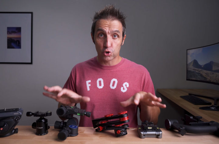 A Guide To Different Tripod Heads and When You Need Them