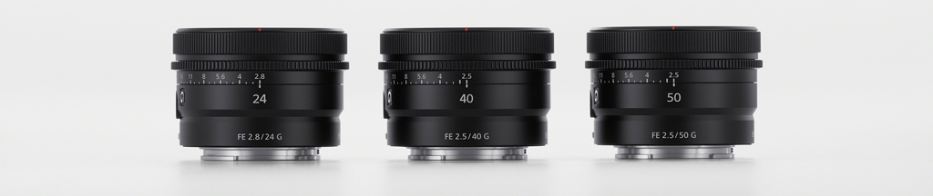 Sony Introduces Trio Of Compact Primes