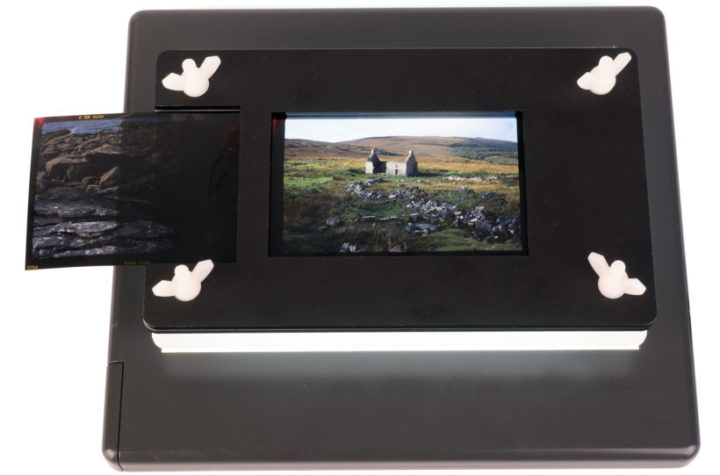 Handy holder for digitising negatives smashes sales target – win one here!